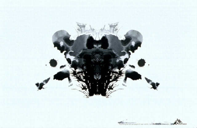 Doctors Without Borders Psychological Aid Campaign For War Victims Rorschach Soldier