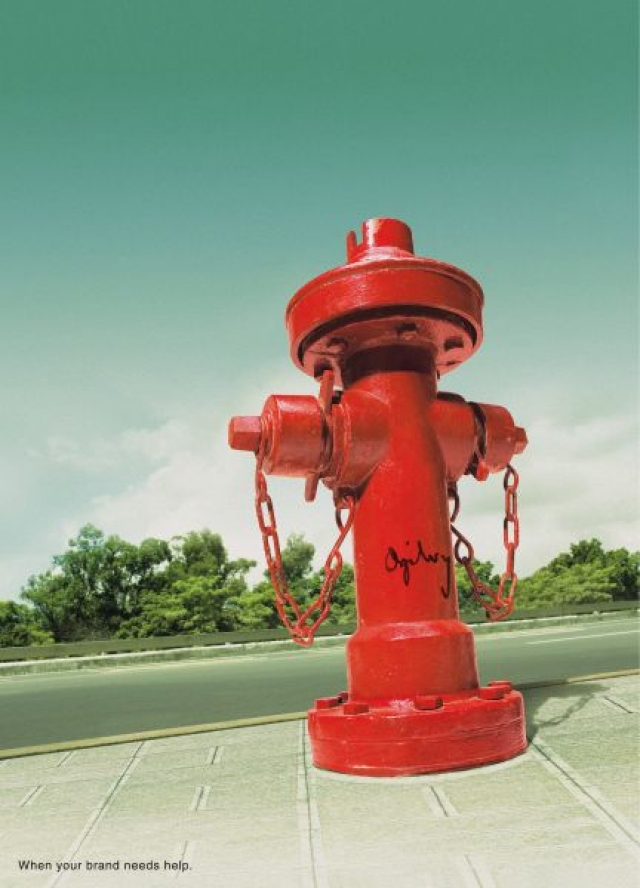 ogilvy mather advertising taiwan advertising agency blood plasma fire hydrant life buoy - Ogilvy Mather Ad Agency