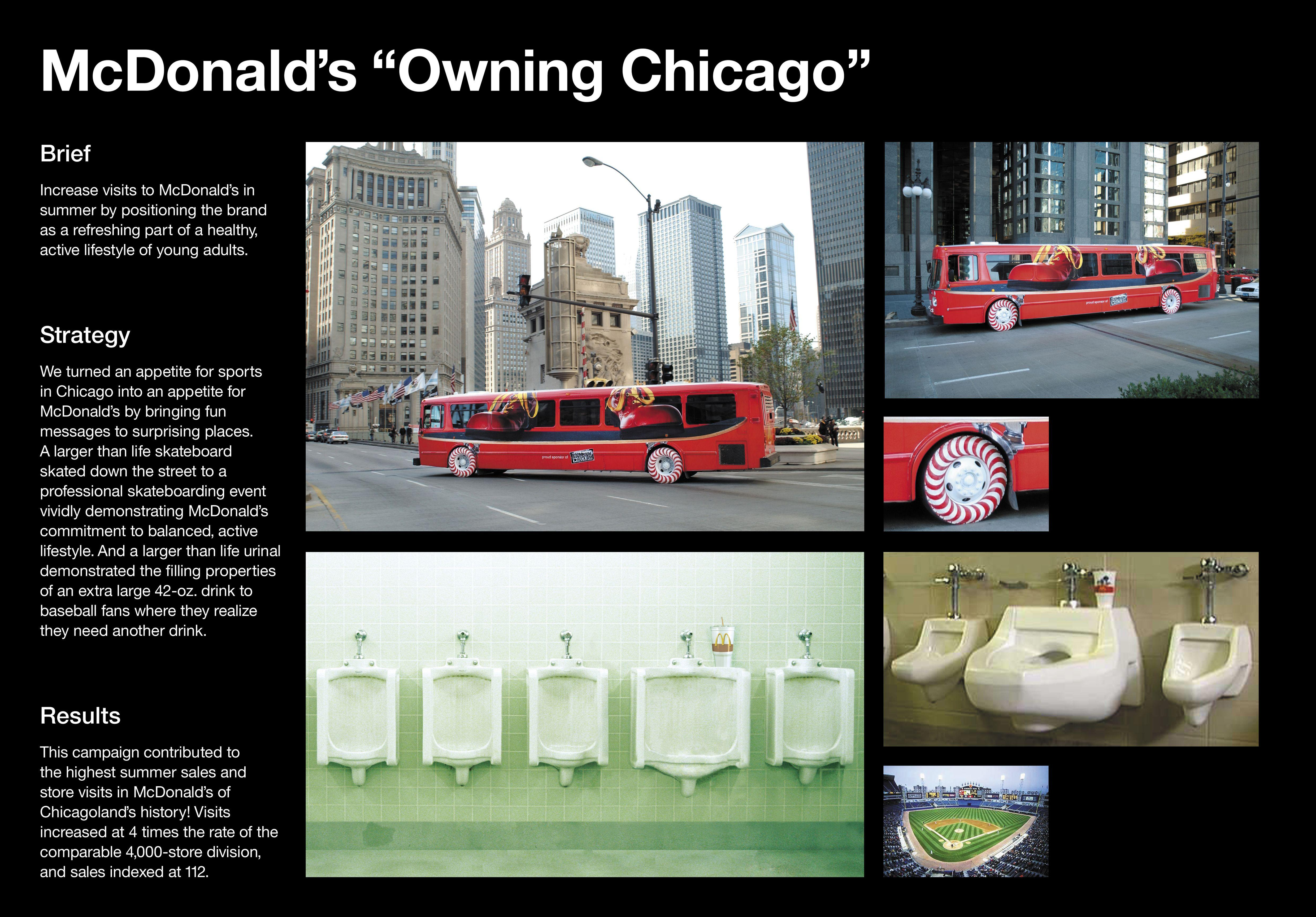 an analysis of the marketing and advertising strategies of mcdonalds She previously wrote about the marketing of the fast food industry for ad age while also covering the agency world before entering reporting, she was ad.