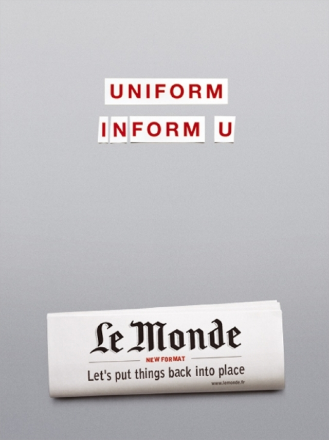 The Word Le Monde Newspaper: Word 1