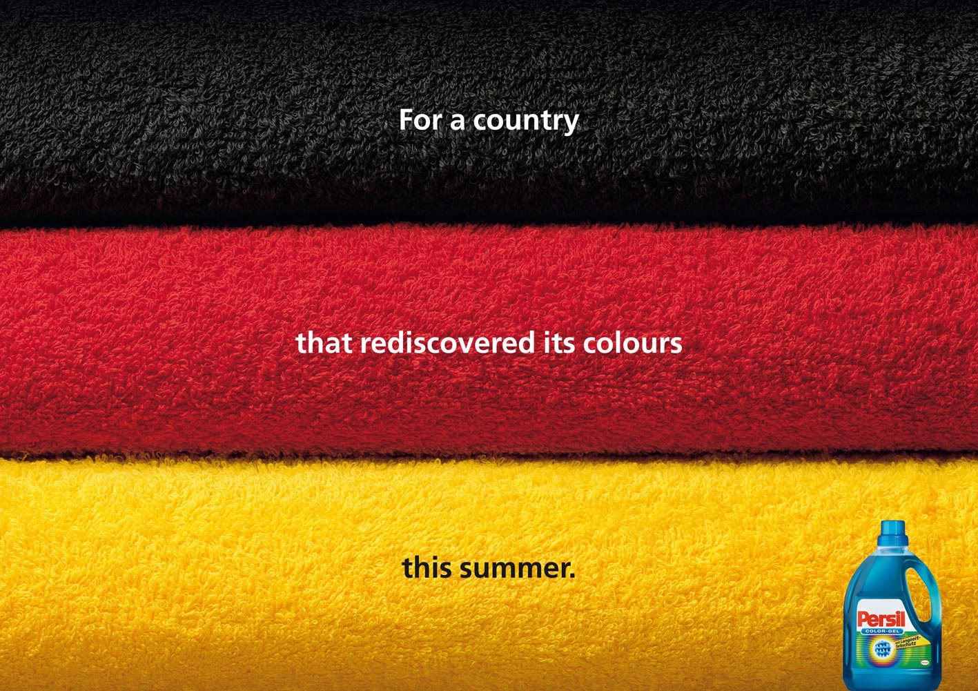Persil Color German Flag