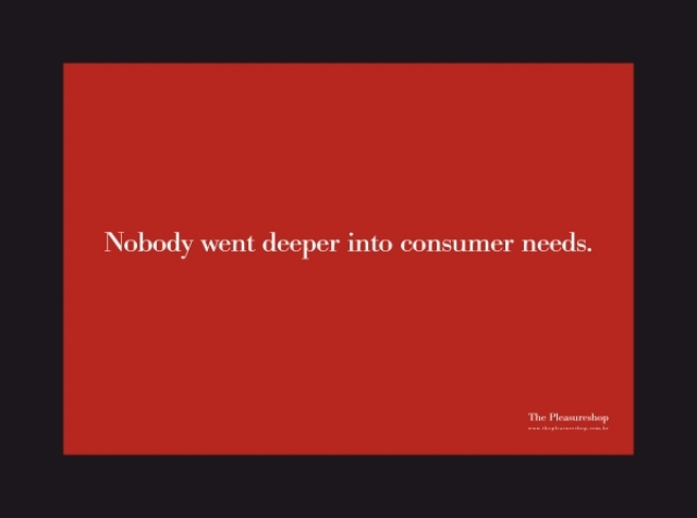 advertising driving consumer needs