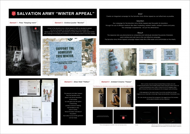 Salvation Army Donation Appeal: Winter Appeal 1