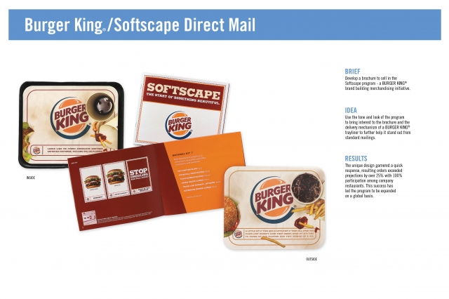 burger king marketing communications Burger king ® restaurants are known for allowing people to have it their way so the burger king® brand decided to inform guests of the unfair pink tax  alison brod marketing + communications.