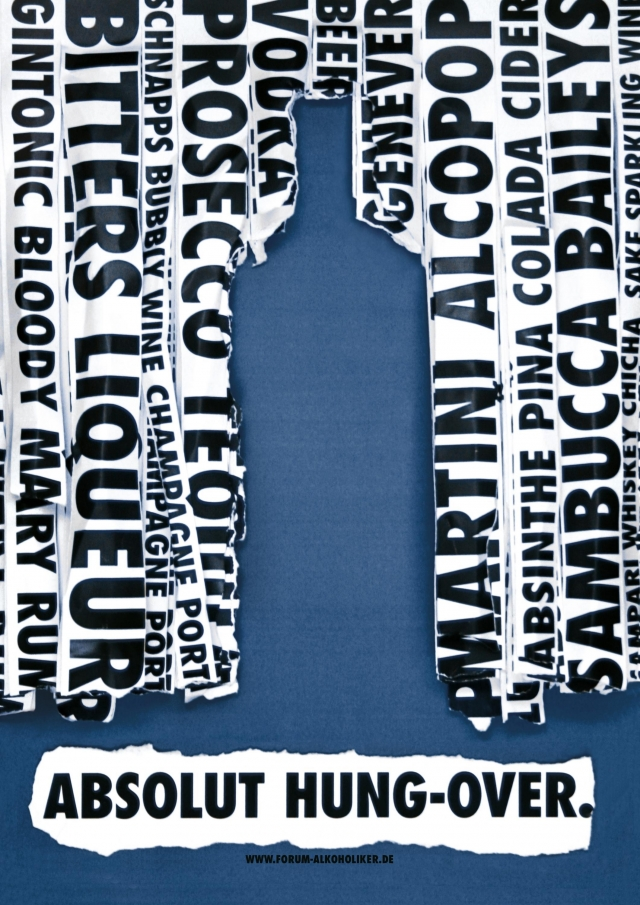 Www.Forum-Alkoholiker.De Anti-Drinking Message: Absolut Sick, Absolut Mashed, Absolut Hung Over 3