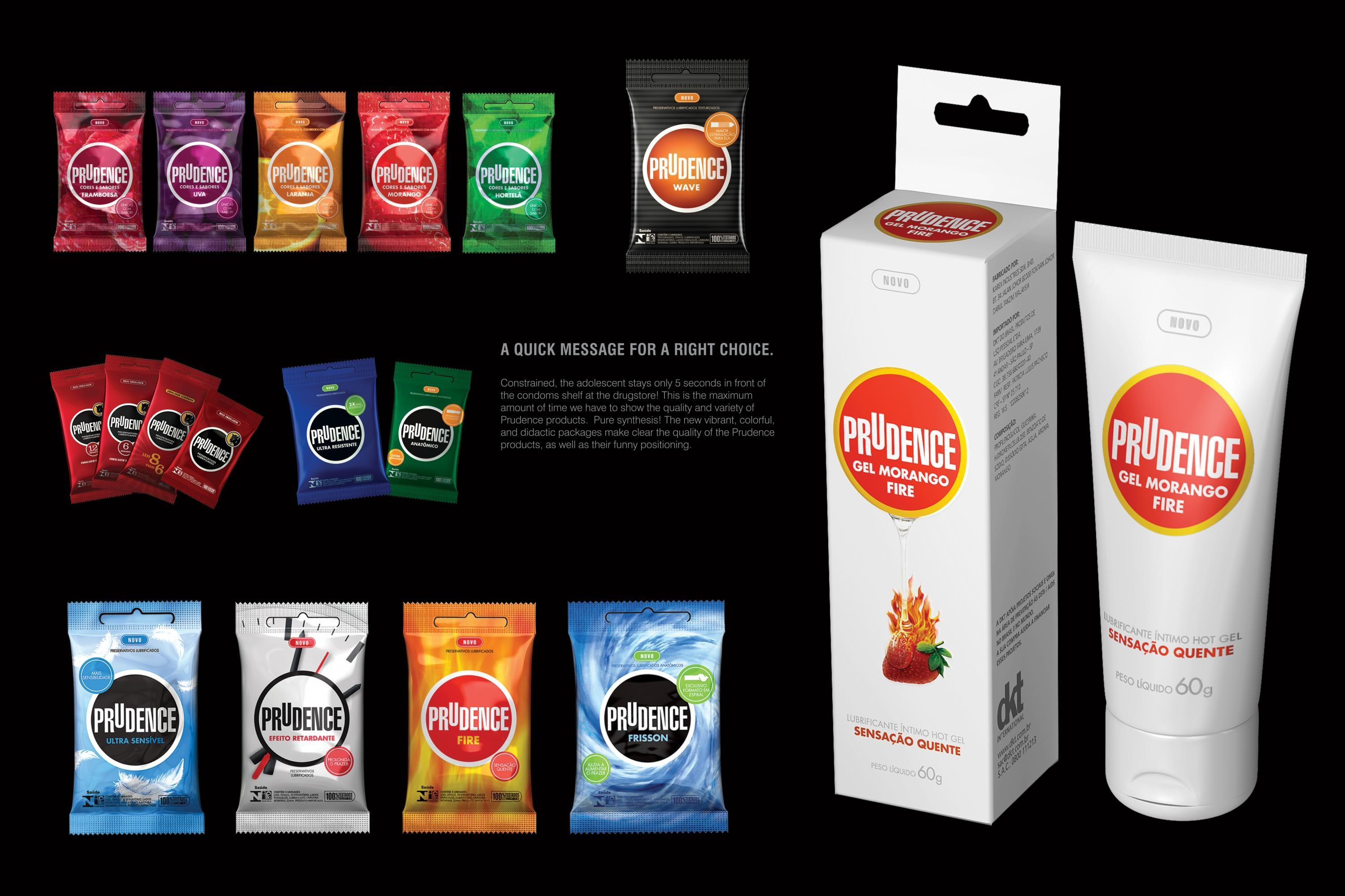 Dkt international prudence condoms packaging design to for International decor brands