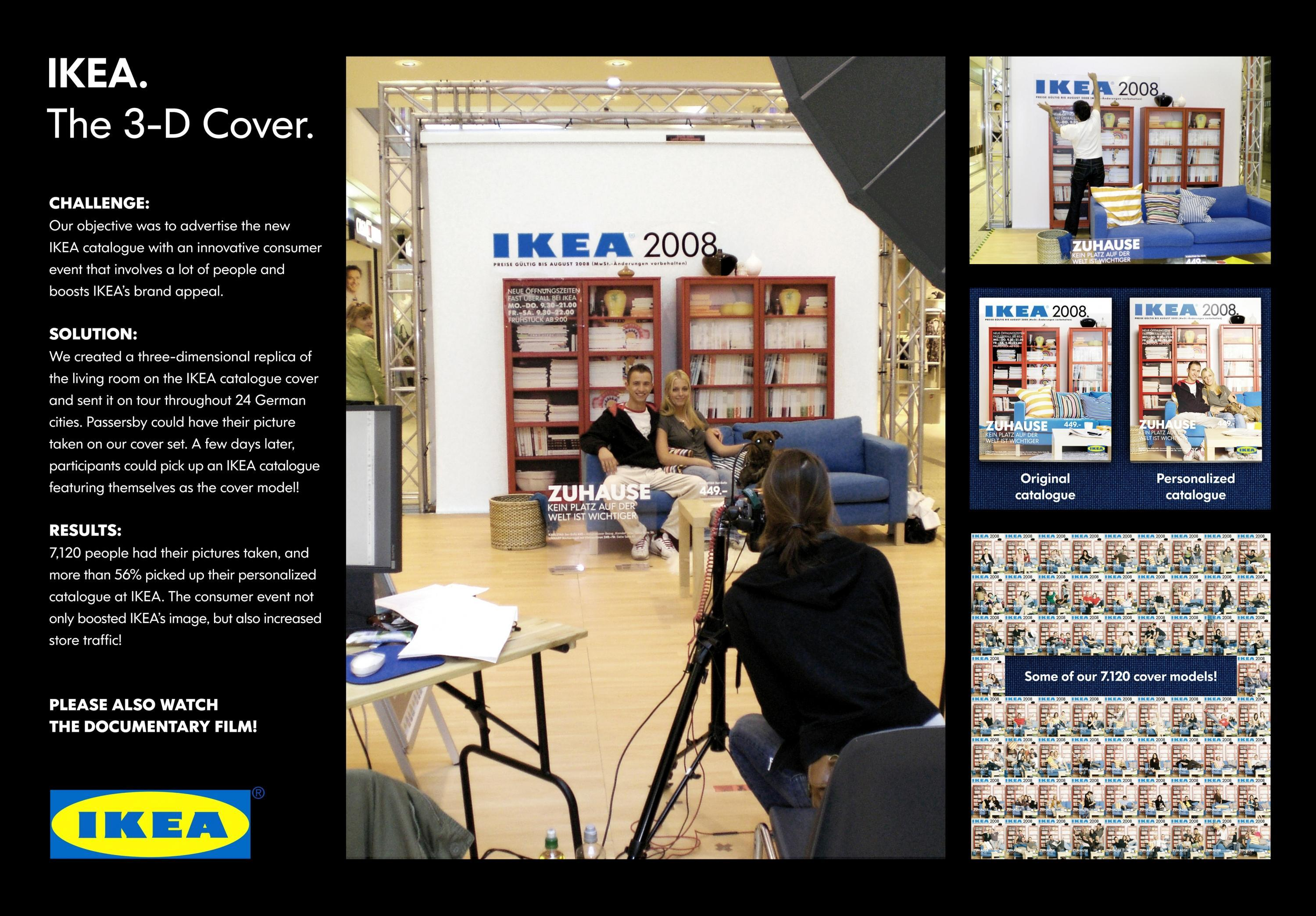 ikea germany ikea furniture store 3d cover the 3 d cover adeevee. Black Bedroom Furniture Sets. Home Design Ideas