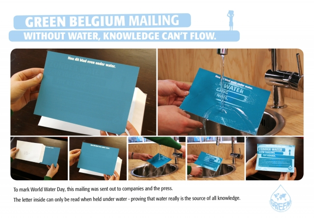 Green Belgium / World Water Day: Letter 1