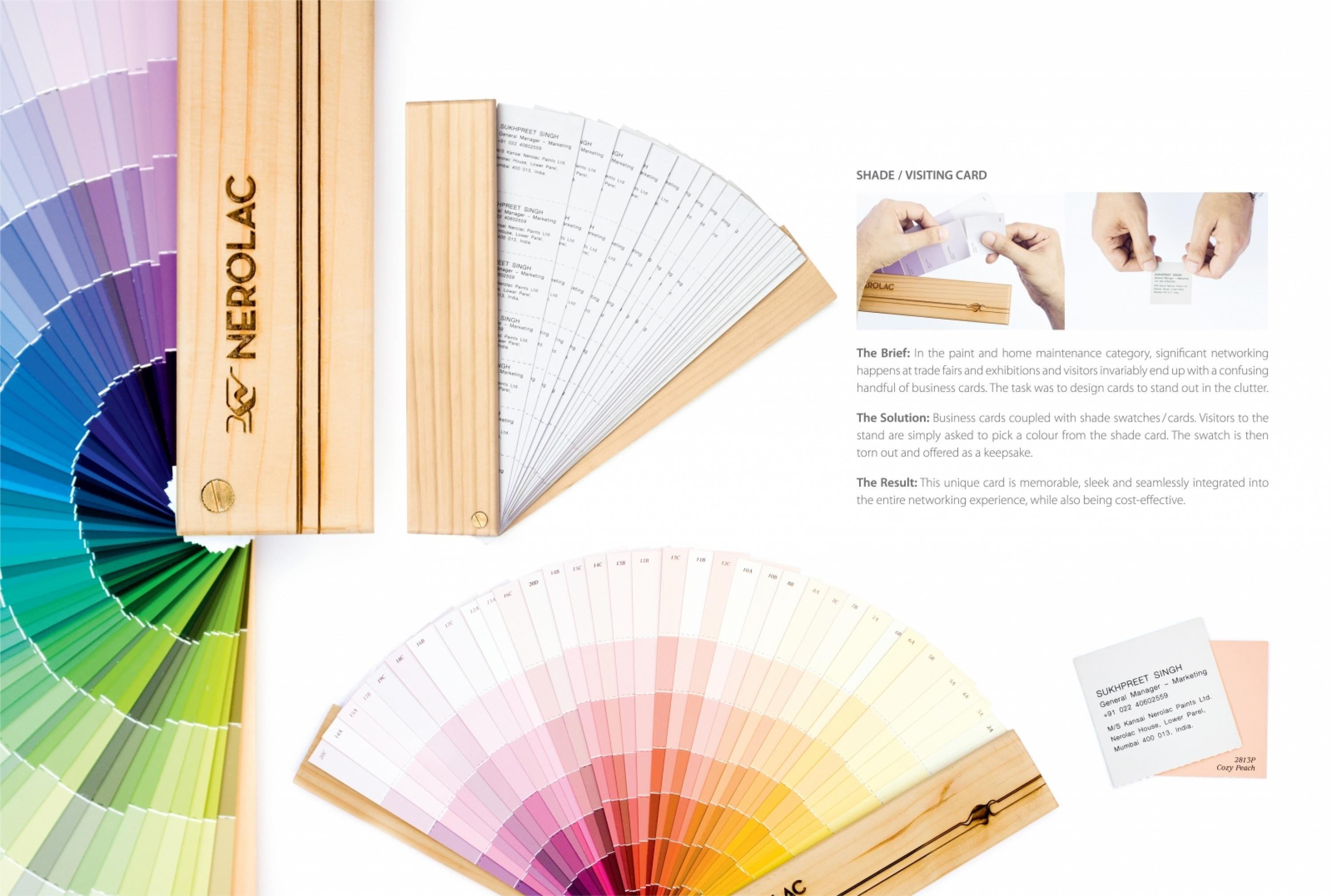 Kansai Nerolac Paints Paint Shade Visiting Card Adeevee