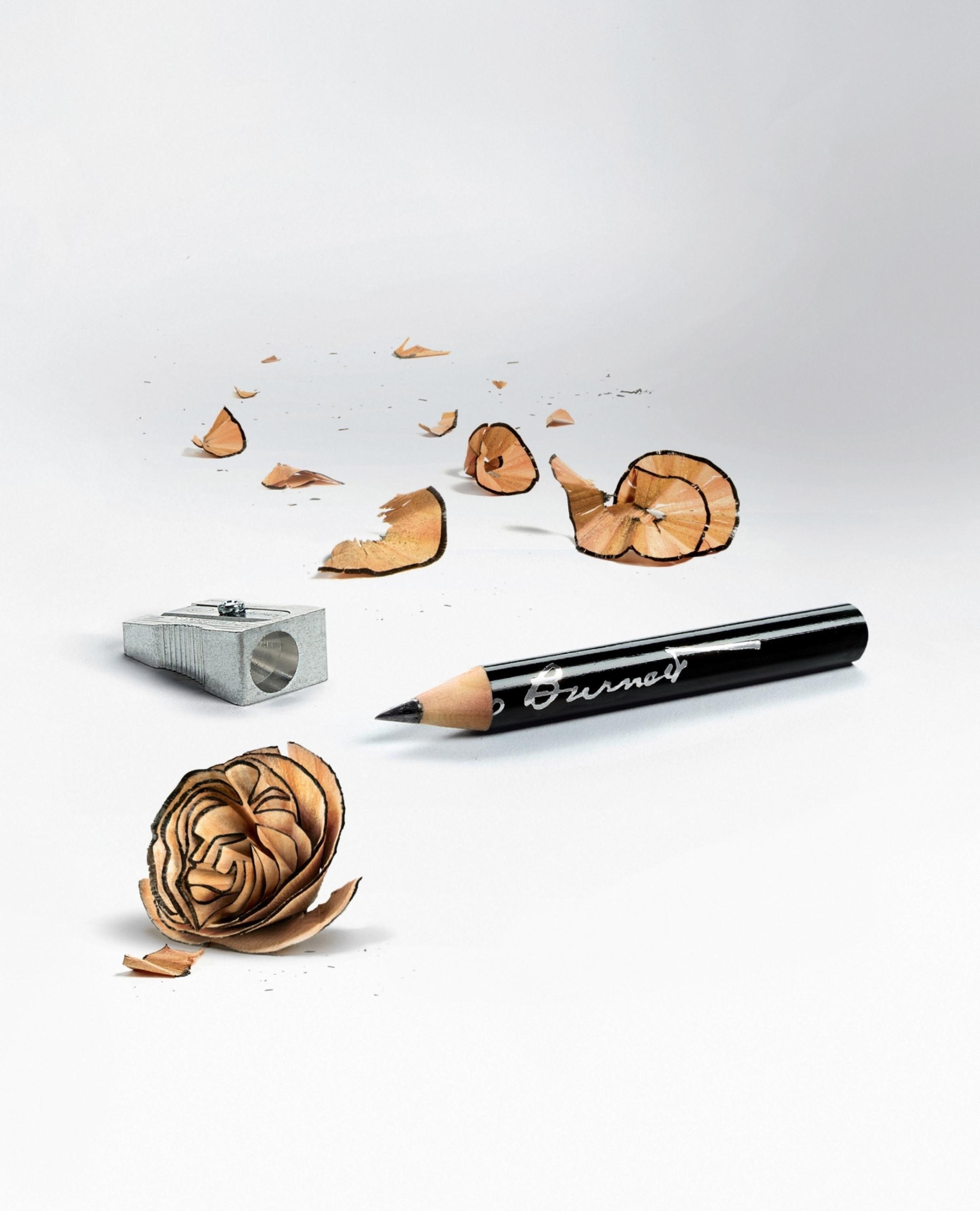 Cannes Lions Journal Congratulatory Ad Pencil Shavings