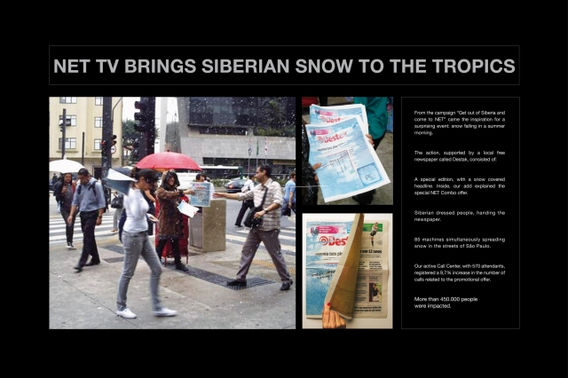Net Services Cable Television Network: Net Tv Brings Siberian Snow To The Tropics 1