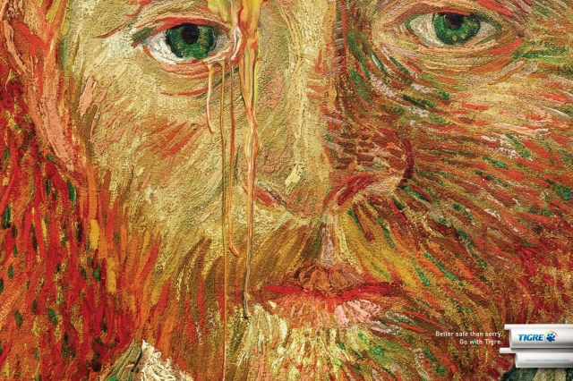 Tigre Pipes And Connections: Van Gogh In Tears, Rembrandt In Tears, Cézanne In Tears 1