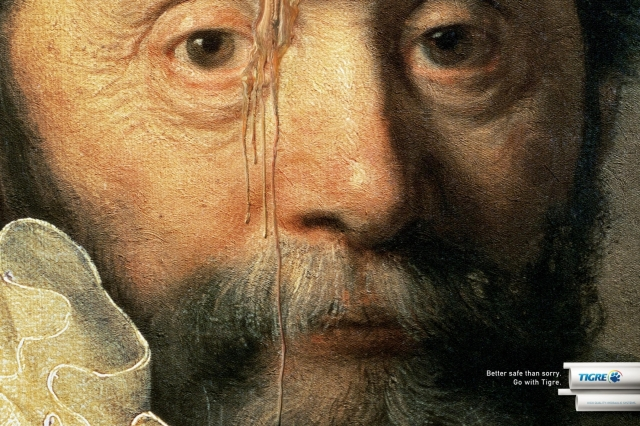 Tigre Pipes And Connections: Van Gogh In Tears, Rembrandt In Tears, Cézanne In Tears 2