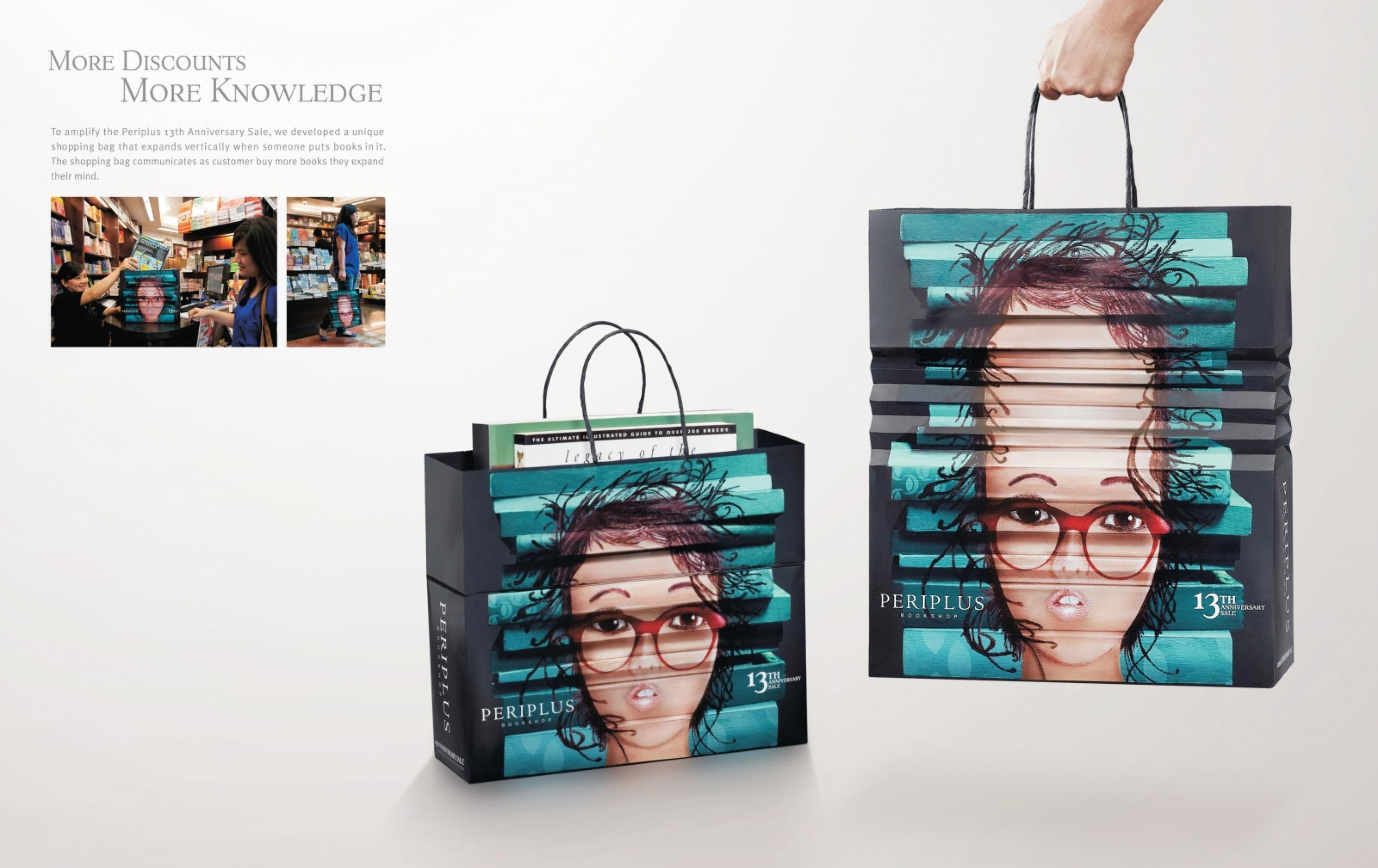 Periplus Imported Book Store: Shopping Bag - Adeevee