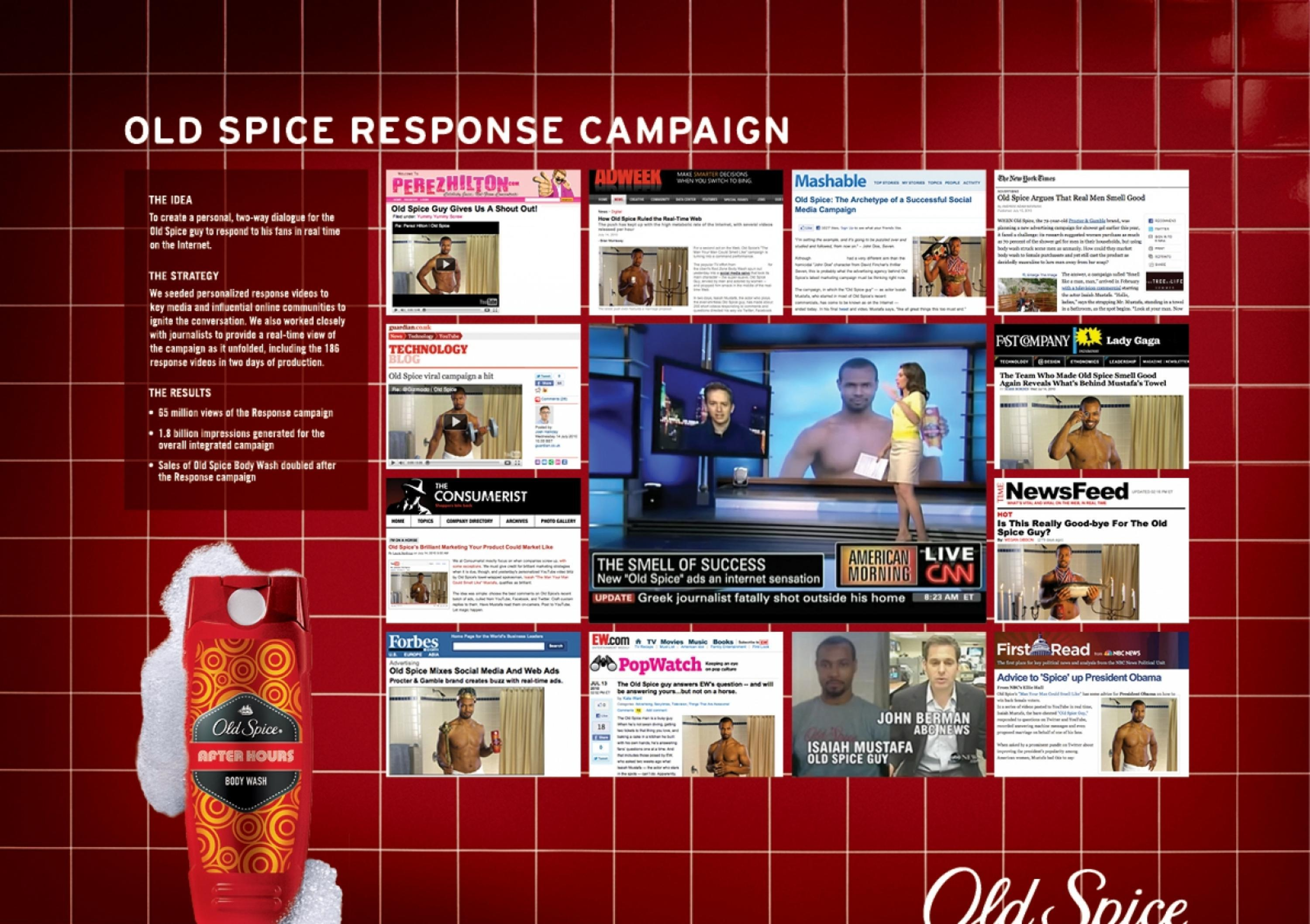 advertising the old spice ad campaign