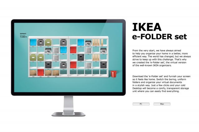 IKEA: Organize your desktop 1