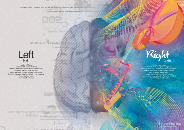 Mercedes Benz: Left Brain - Right Brain 1