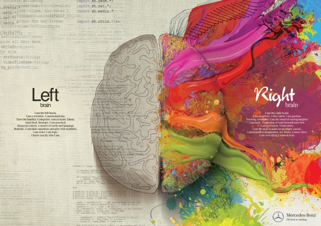 Mercedes Benz: Left Brain - Right Brain 2