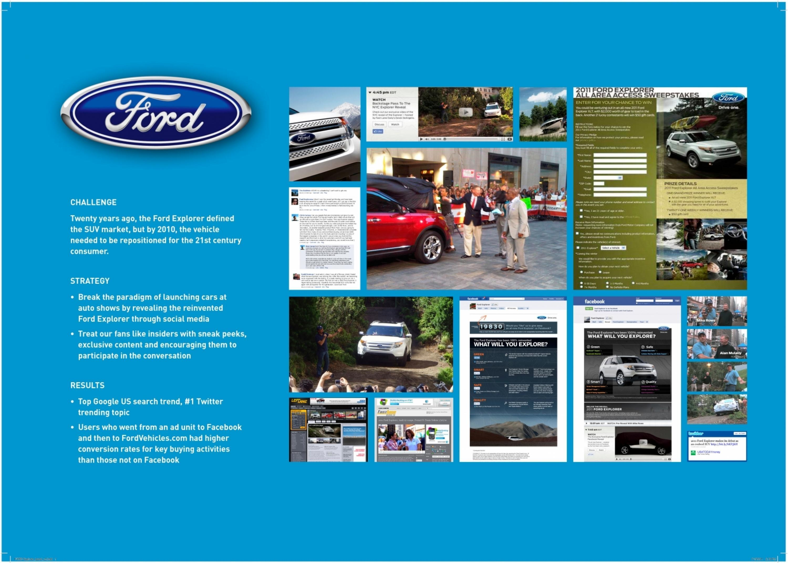 ford motors corporate level strategy The strategy hasn't cost ford europe market share, which de waard says remains steady at about 83% the executive says the small cross/utility vehicle segment represents opportunity for growth.