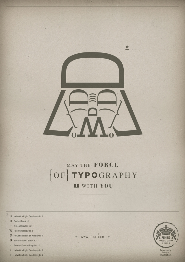 H-57 Creative Station: The Force of Typography 2