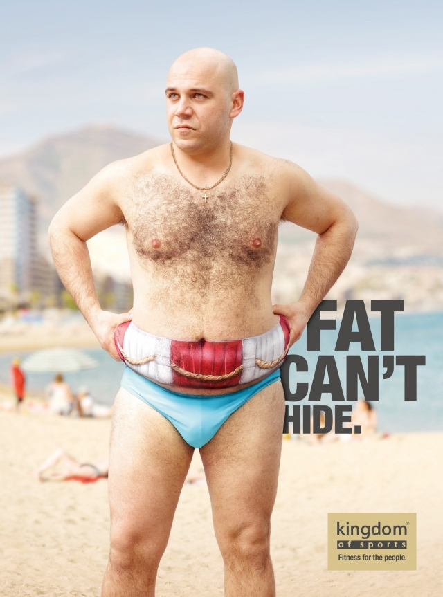 Kingdom Of Sports: Fat can't hide 1