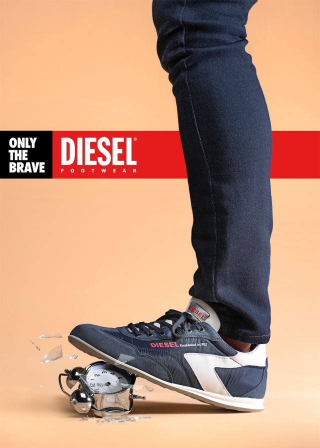 Diesel Footwear: Only the brave 2