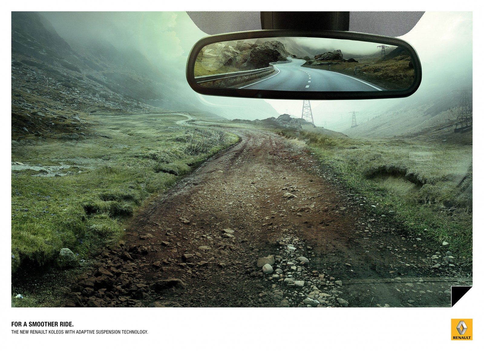 Renault Kaleos: Rear-view mirror - Adeevee