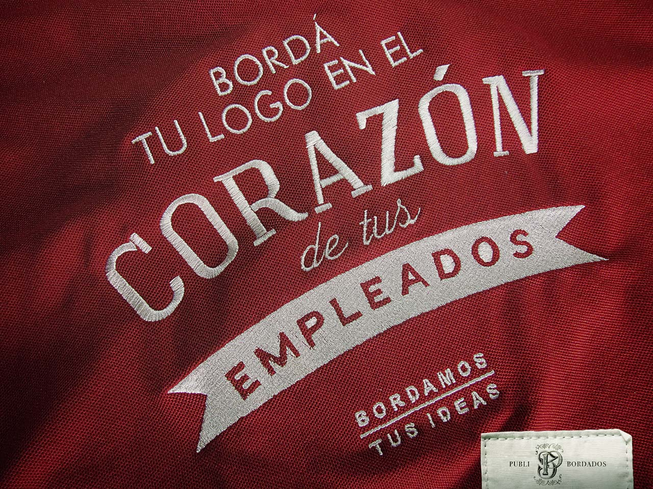 Publibordados embroidery company we embroider your ideas
