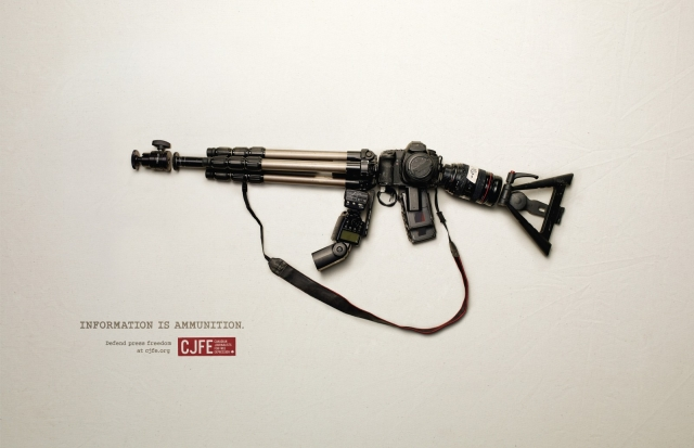 CJFE - Canadian Journalists for Free Expression: Information is Ammunition 2
