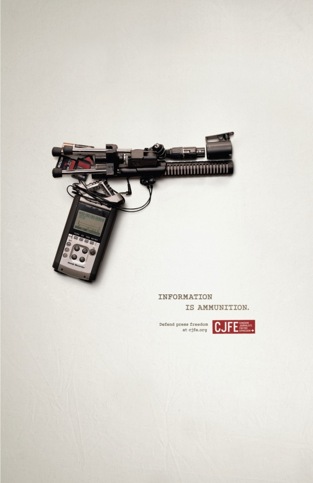 CJFE - Canadian Journalists for Free Expression: Information is Ammunition 3