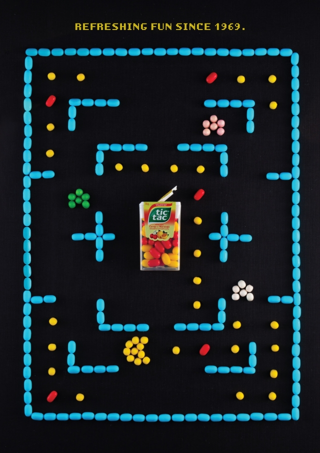 Tic Tac: Pacman, Snake, Arkanoid 1