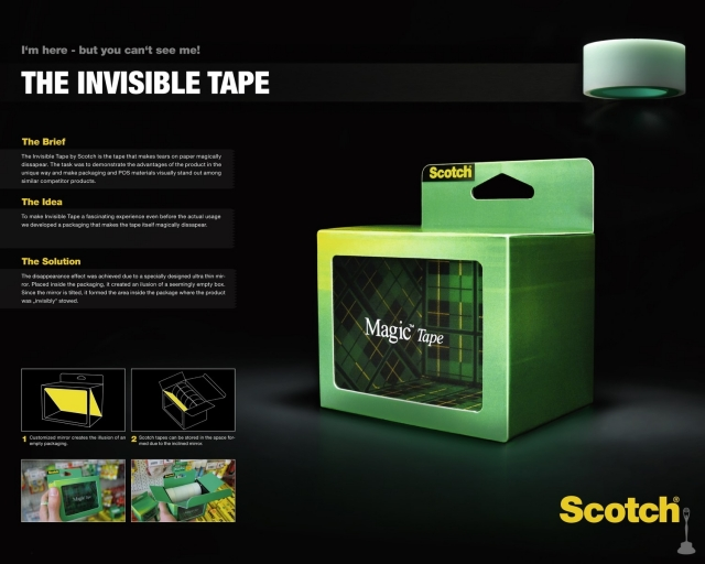 3M Scotch: Magic Tape 1