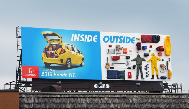 Honda Fit: Inside / Outside, Funnel 1