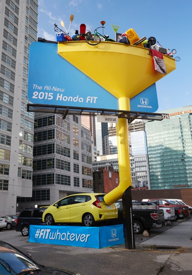 Honda Fit: Inside / Outside, Funnel 2