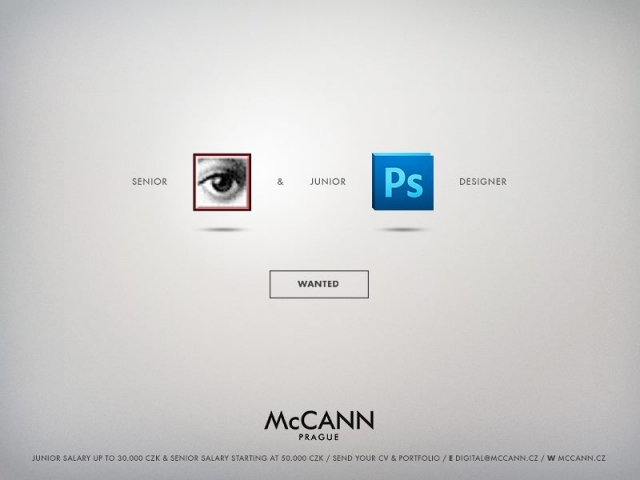 McCann Prague: Designer Wanted 1