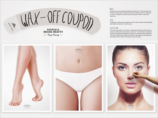 Estética Brasil Beauty: The Wax-Off Coupon 1