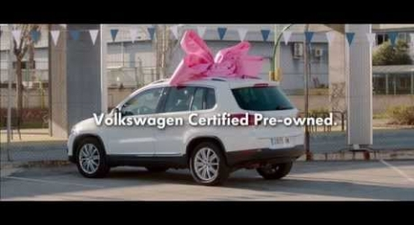 volkswagen certified pre owned service ribbon adeevee. Black Bedroom Furniture Sets. Home Design Ideas