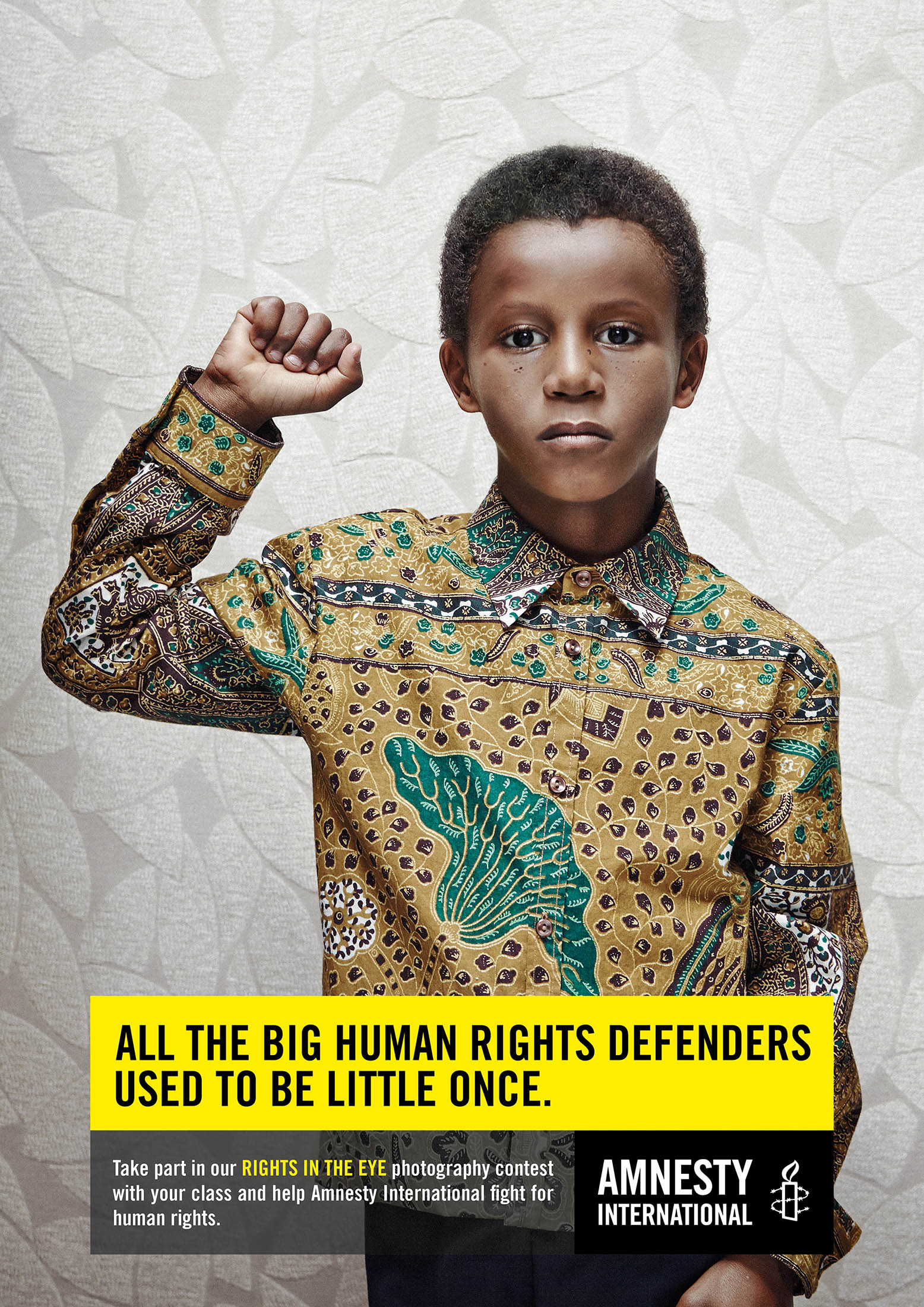 Amnesty International: Gandhi, Martin Luther King, Nelson