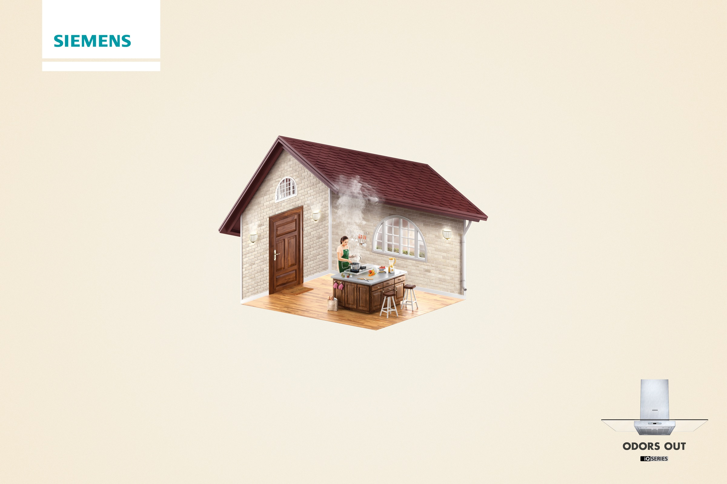 Siemens odors out adeevee for Ad house