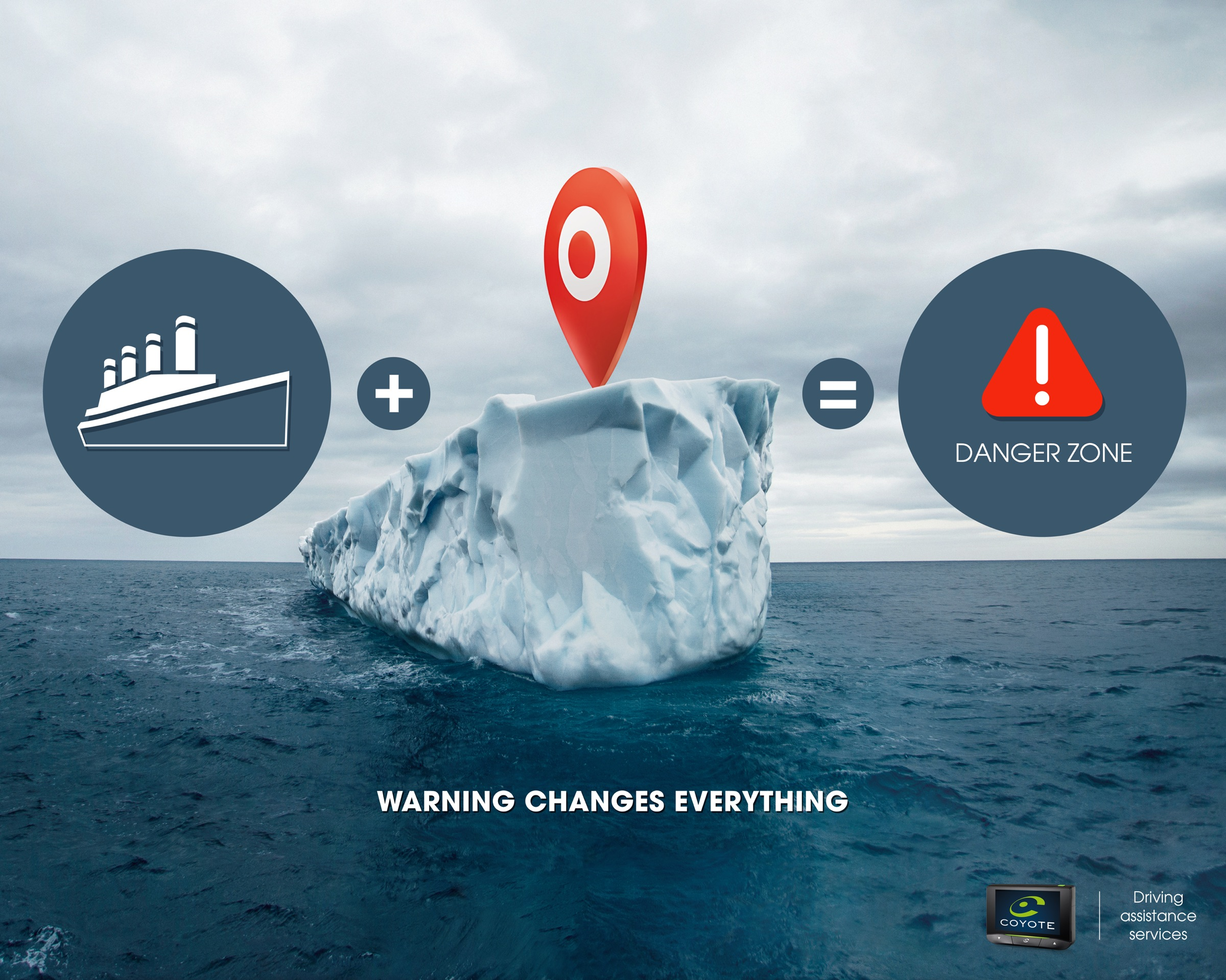 Advertising agency art director coyotes iceberg warning for Advertising agency paris
