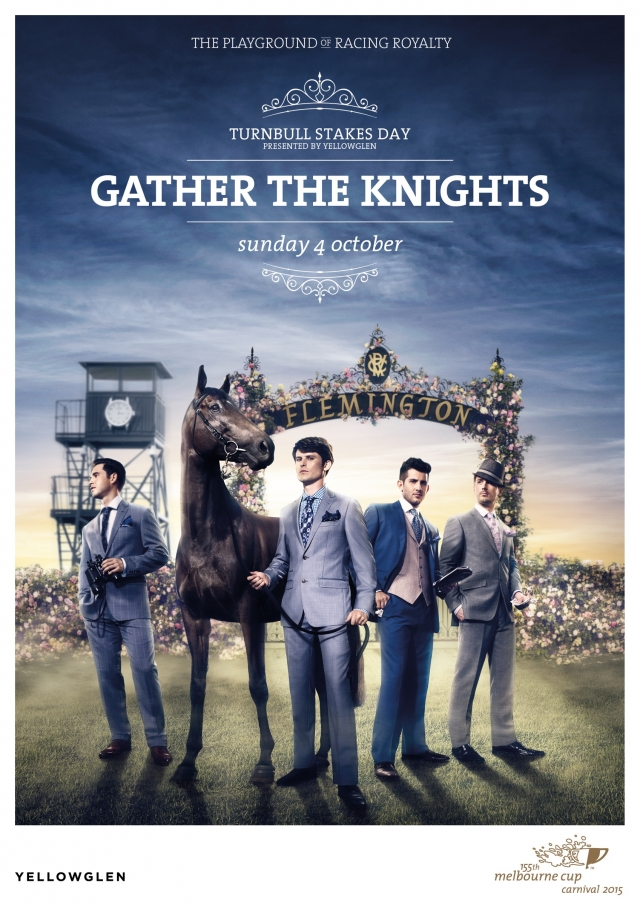 155th Melbourne Cup Carnival 2015: Fashion, Knights, Princess, Day of Days 2