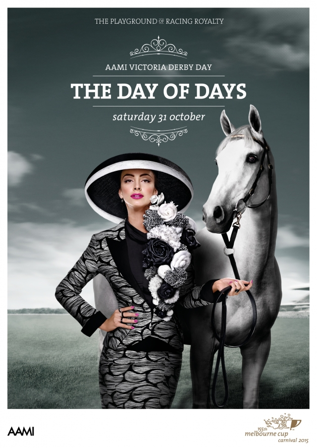 155th Melbourne Cup Carnival 2015: Fashion, Knights, Princess, Day of Days 4