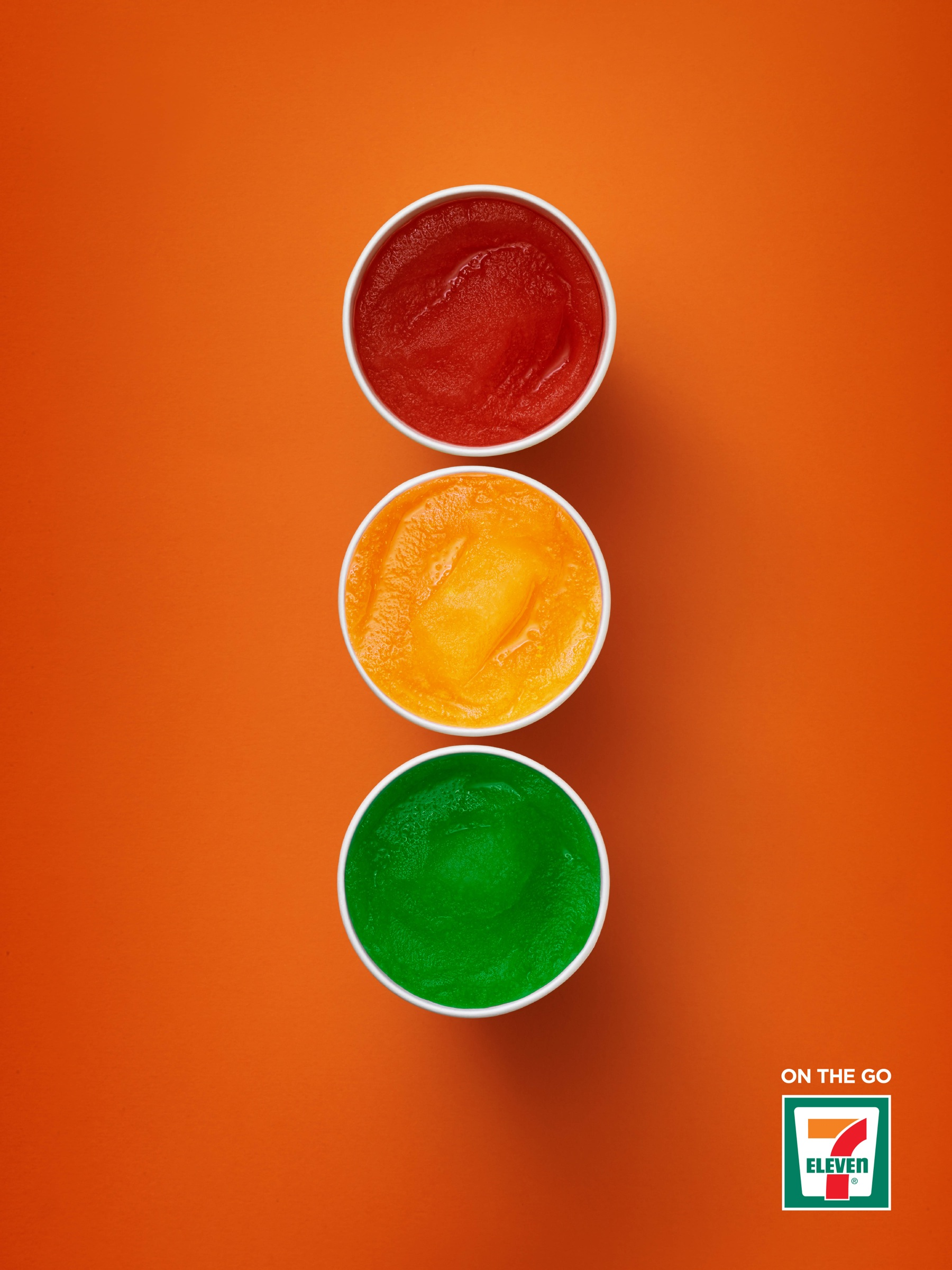 7 eleven ther straw meter slurpee stop light hot dog for Advertise for companies
