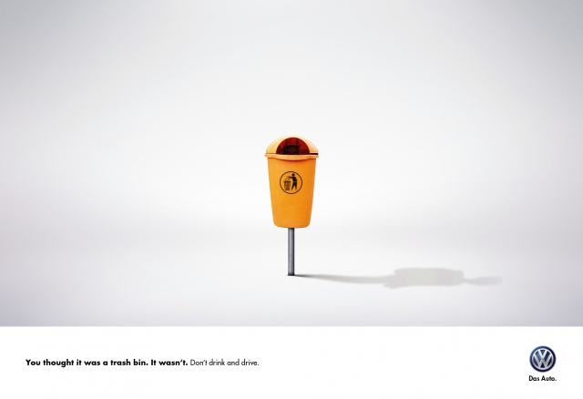 Volkswagen: Don't drink and drive 2