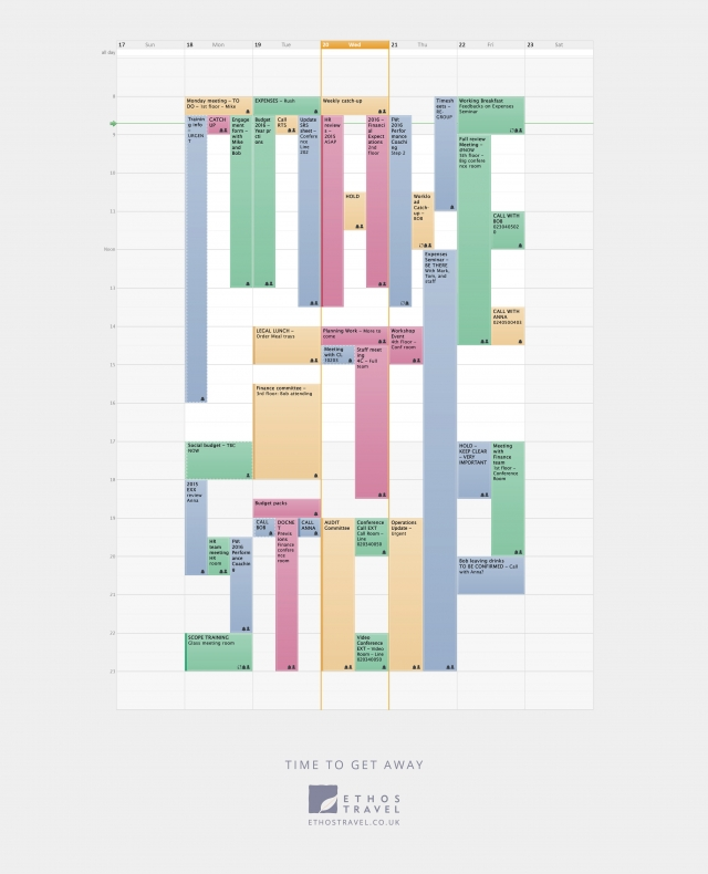 Ethos Travel: The Calendar 3