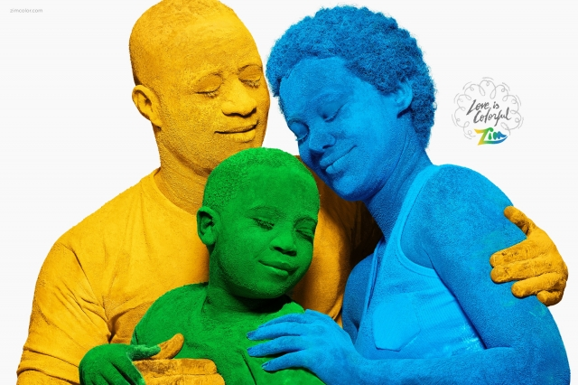 Zim Coloured Powder: Love is colorful 2