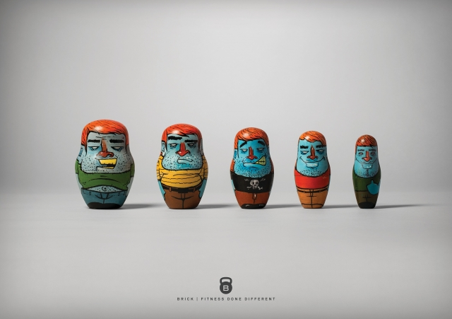 Brick: Fit Nesting Dolls 1