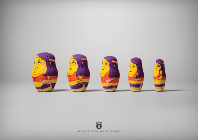 Brick: Fit Nesting Dolls 3