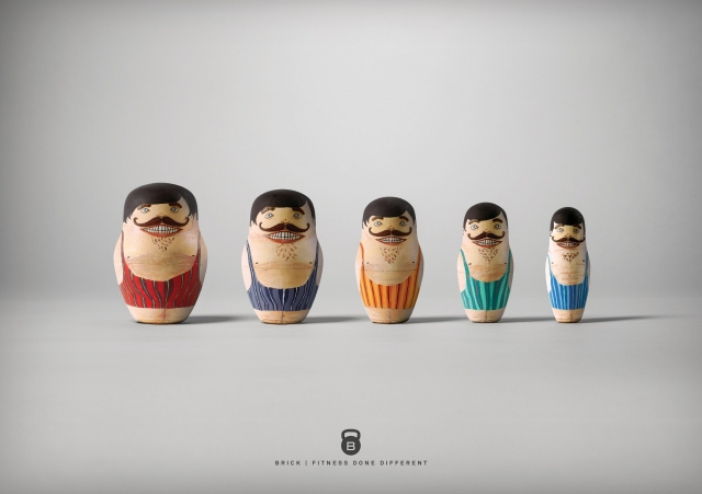 Brick: Fit Nesting Dolls 4