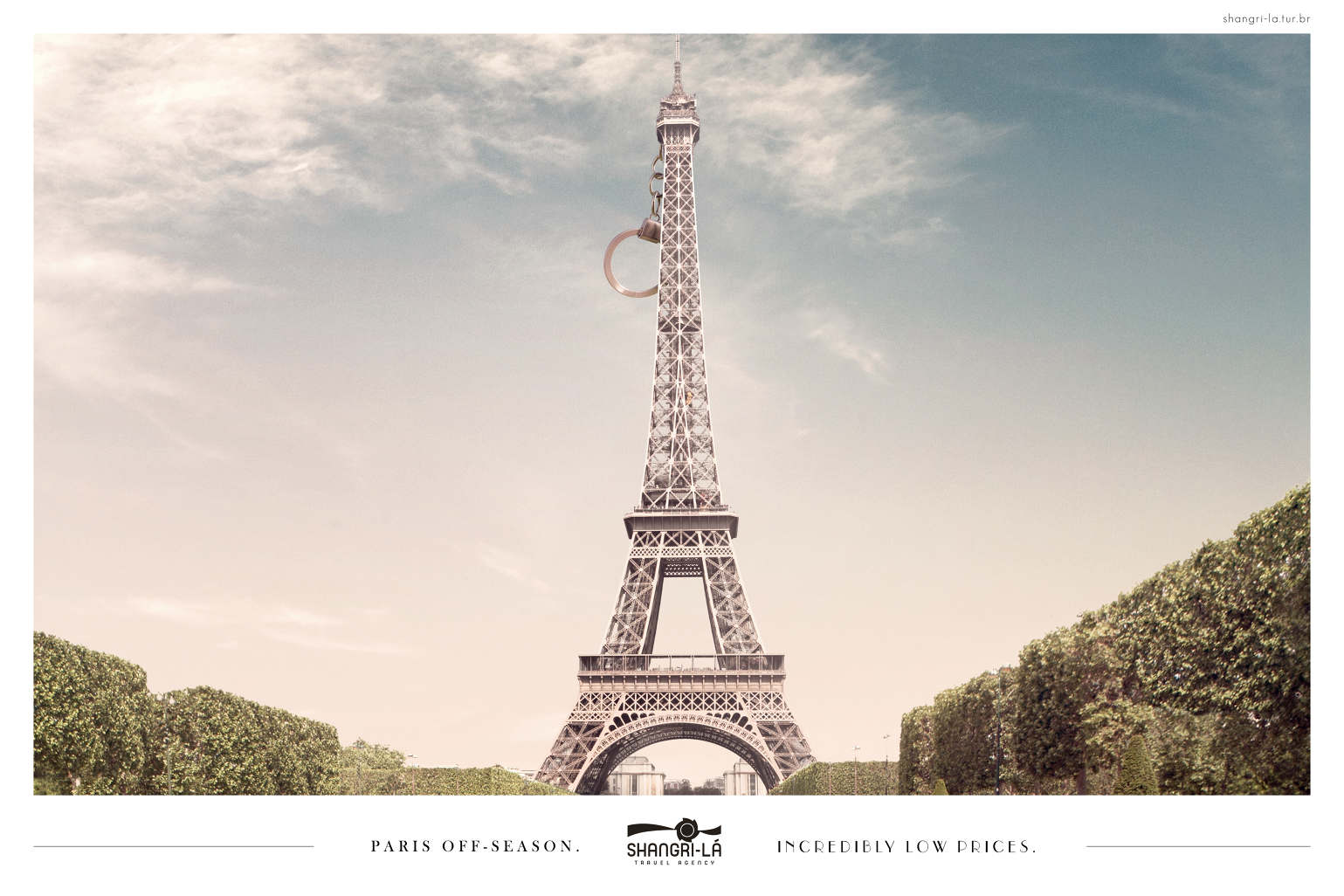 Shangri l travel agency new york london paris adeevee for Advertising agency paris